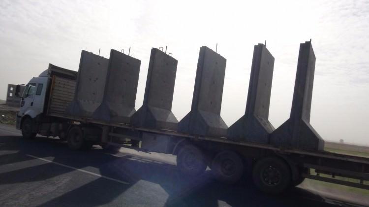 Sınırda beton harekâtı