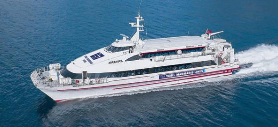 Didim'den Yunanistan'a feribot seferleri başladı