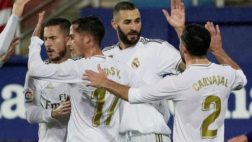 Real Madrid, Eibar deplasmanında ter attı
