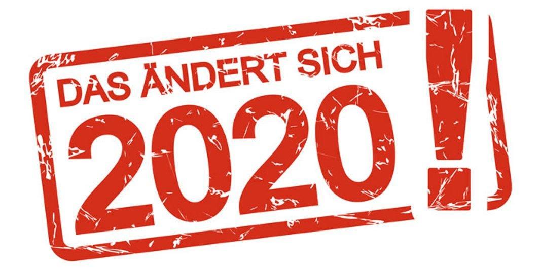 2020 Almanyada neler degisecek